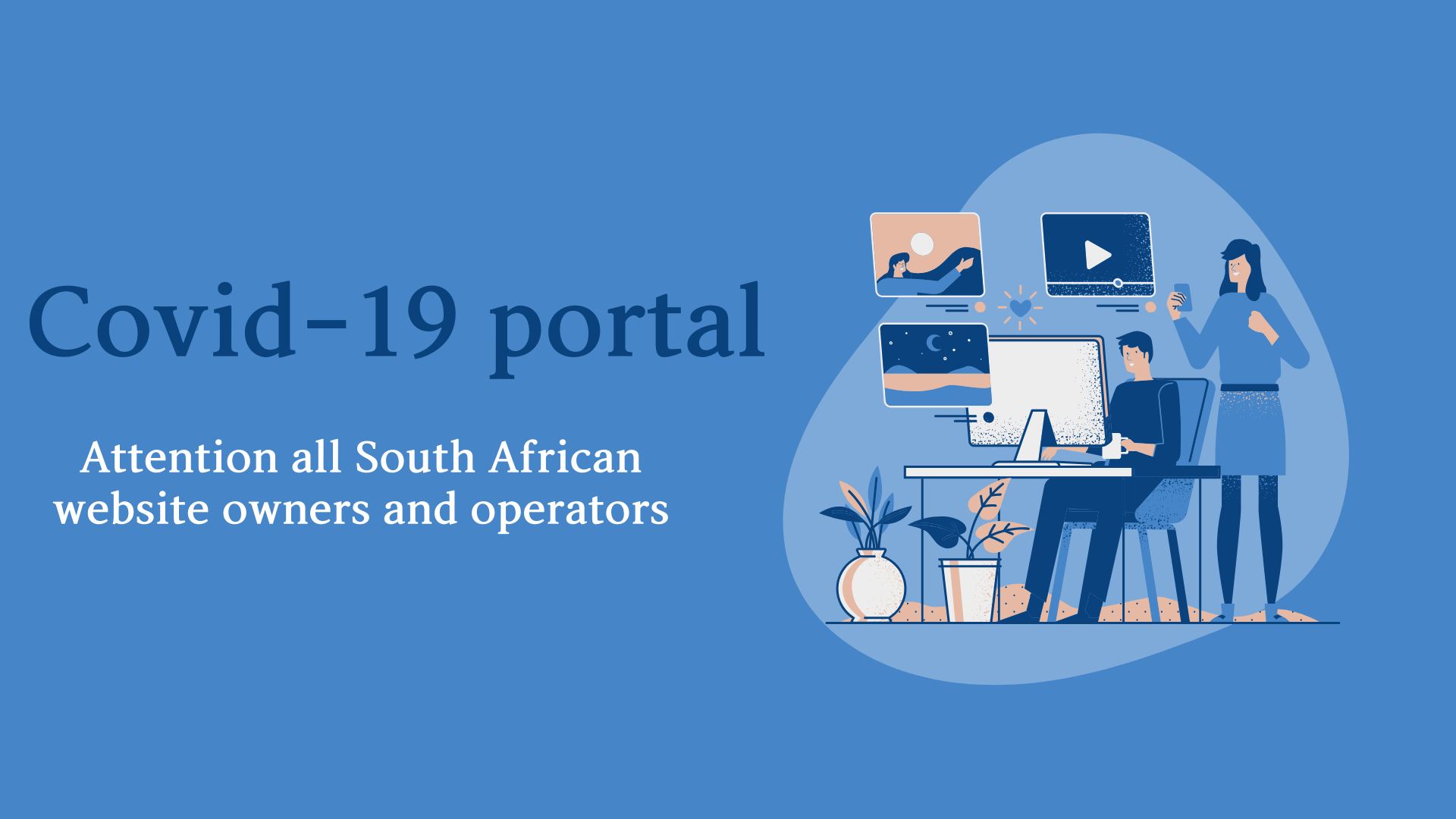 All .za websites ordered to link to government Covid-19 portal