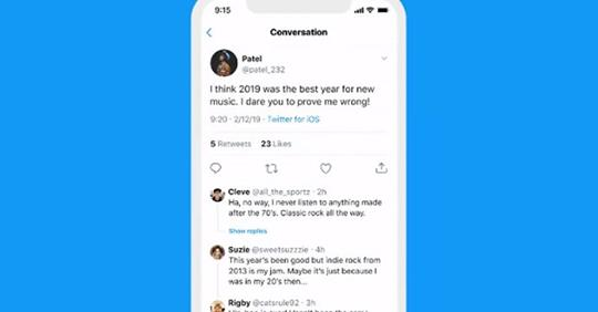 Twitter Expands Test of Threaded Tweet Replies to More Users, Adds New Format Tweaks