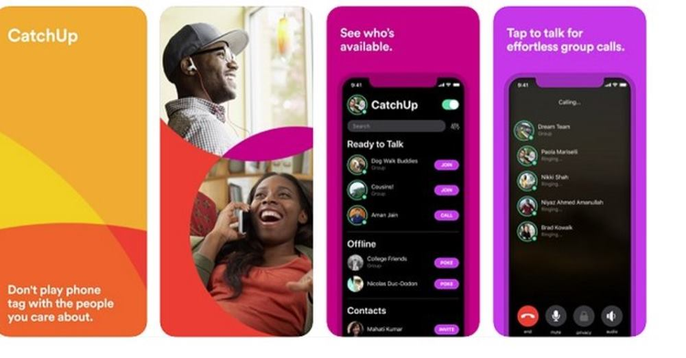 Facebook Launches New App Called 'CatchUp' to Facilitate Group Phone Chats