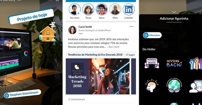 LinkedIn Stories is Now Available to Users in Brazil