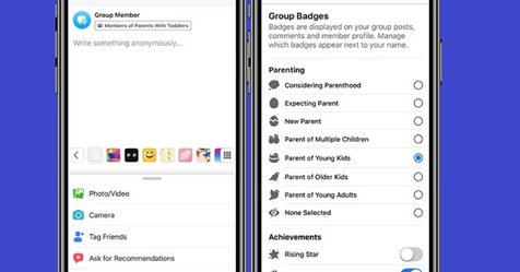 Facebook Adds New Options for Parenting Groups